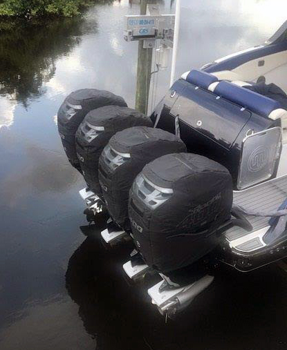 Photo Gallery - Tuff Skinz: Vented Outboard Motor Covers