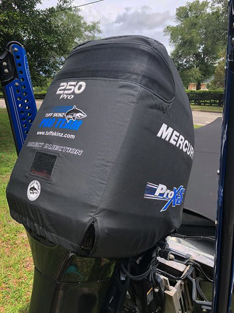Contact US >> Photo Gallery - Tuff Skinz: Vented Outboard Motor Covers