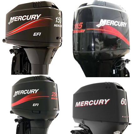 MERCURY EFI - Tuff Skinz: Vented Outboard Motor Covers