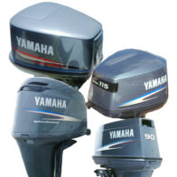 Yamaha 350 HP 4-Stroke V8 - Tuff Skinz: Vented Outboard Motor Covers