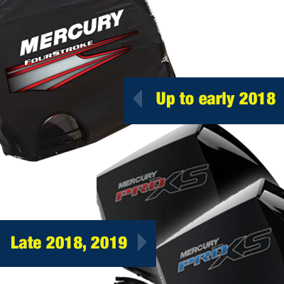 Mercury 4-Stroke Vented Outboard Cover - Tuff Skinz: Vented Outboard