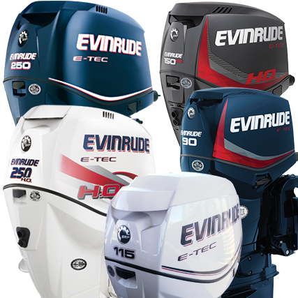 EVINRUDE ETEC - Tuff Skinz: Vented Outboard Motor Covers