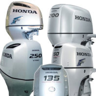 Honda Vented Outboard Covers