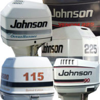 Johnson Vented Outboard Covers